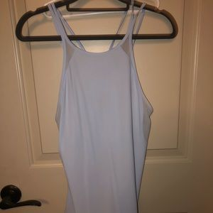 LULULEMON BABY BLUE MESH TOP